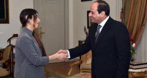 الحائزة على نوبل للسلام تعلق على لقاءها بالسيسي