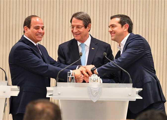 توقيعات بين مصر وقبرص واليونان