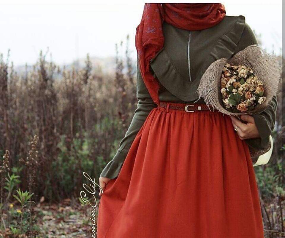 ملابس محجبات شتاء 2019