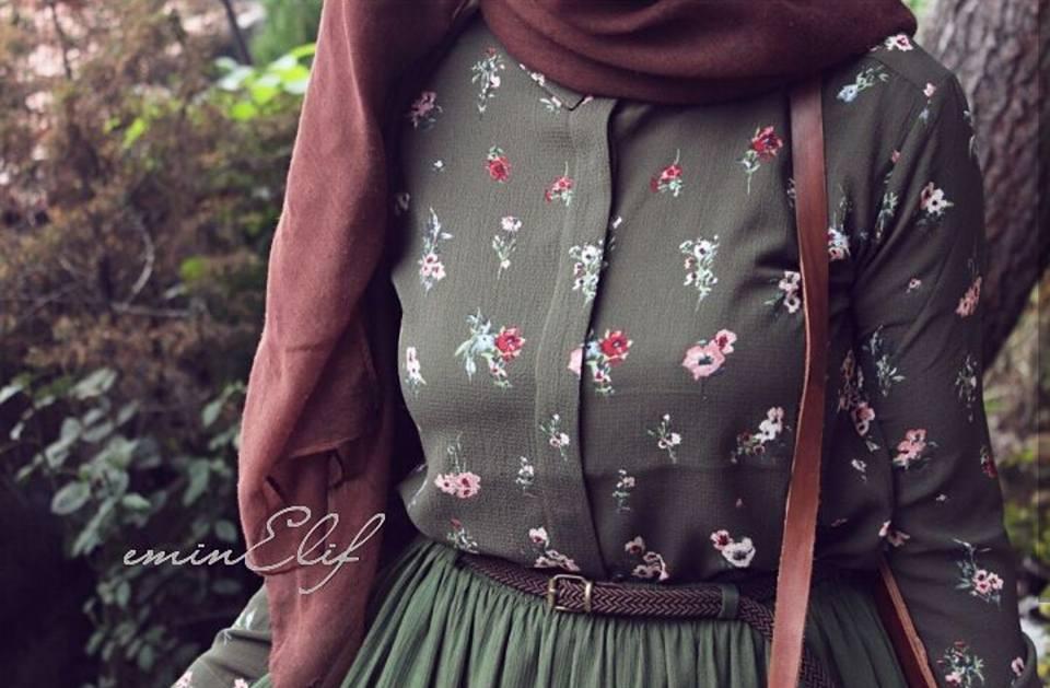 جيبة للمحجبات ملابس شتاء 2019
