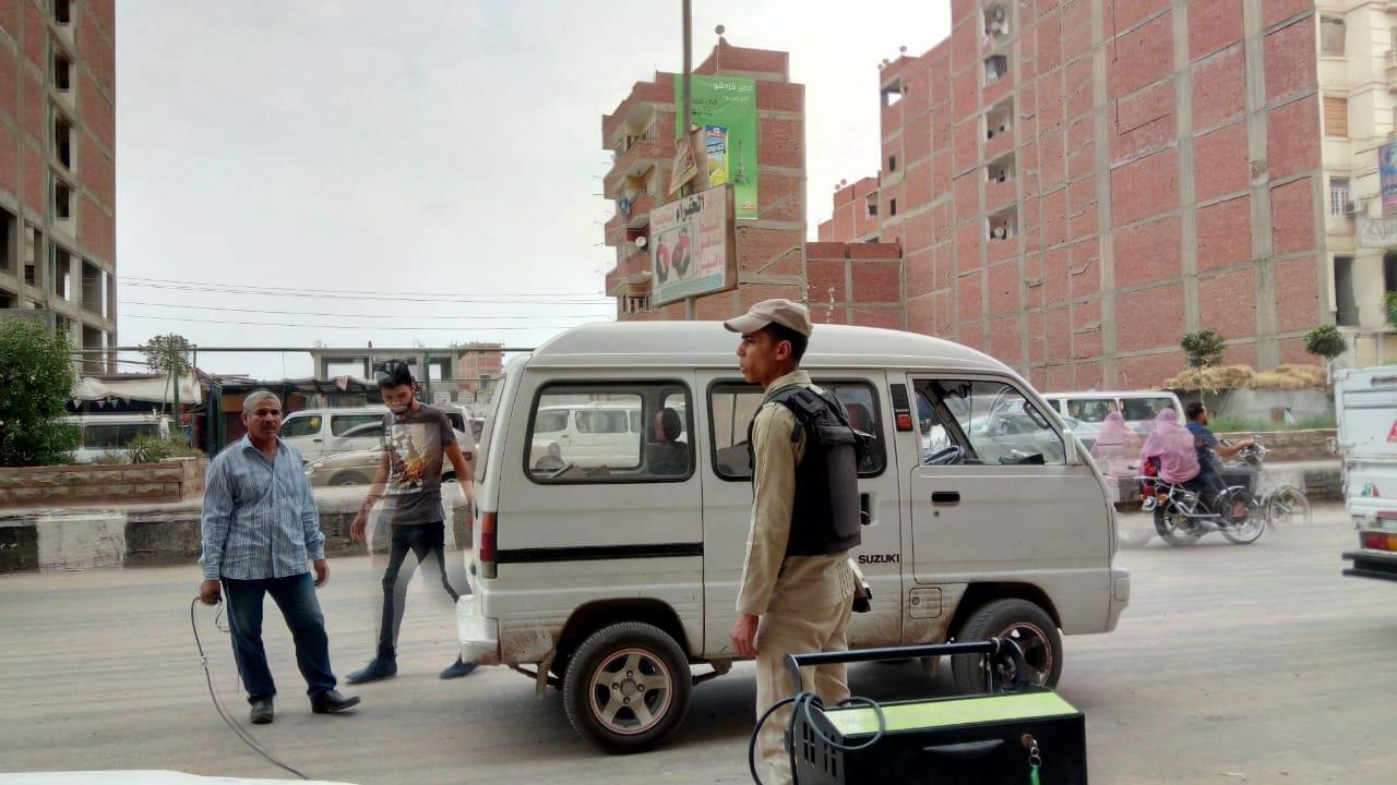 حملات مفاجئة لفحص عوادم المركبات بالشرقية