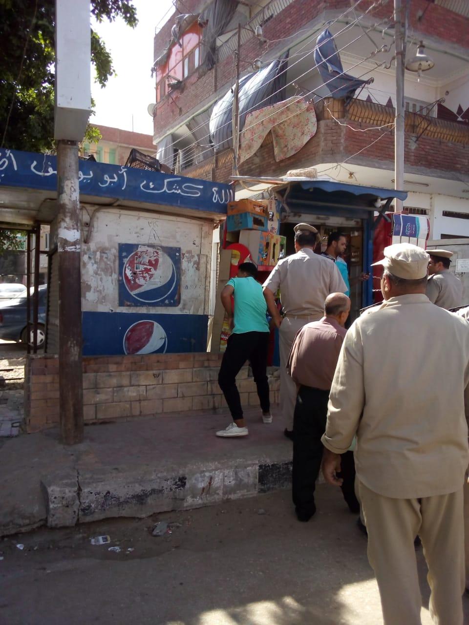 حملة إزالات مكبرة بشوارع الزقازيق