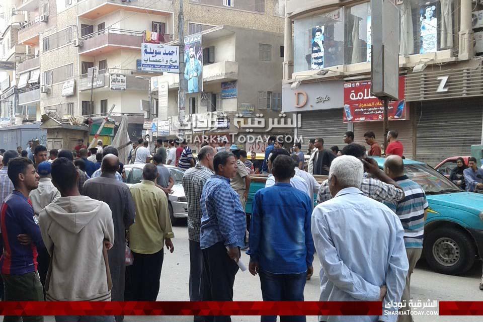 حملة مكبرة لإزالة إشغالات بمدينة كفر صقر