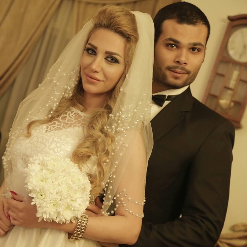 الفنان أحمد عبدالله محمود وسارة نخلة