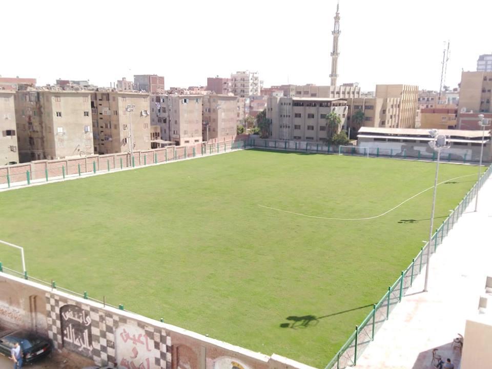 غضب أهالي القنايات بسبب انتهاء تطوير الملعب وعدم تسليمه