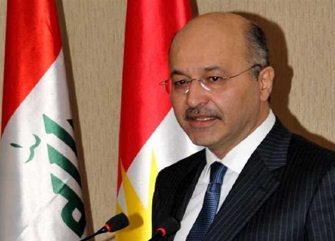 فوز برهم صالح برئاسة العراق