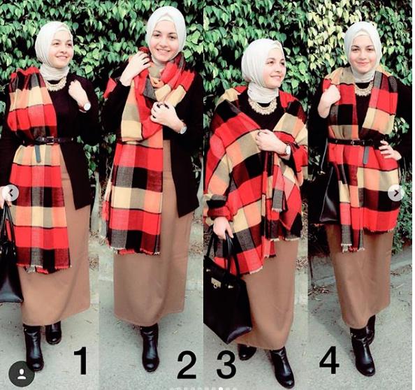 3af17077c برس بي : موضة ملابس شتاء 2019 من آية فوزي