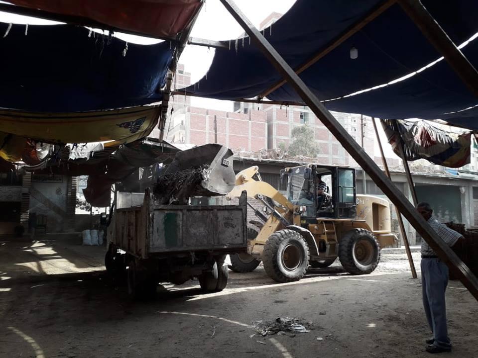 إزالة الإشغالات بمدينة الزقازيق إزالة الإشغالات بمدينة الزقازيق