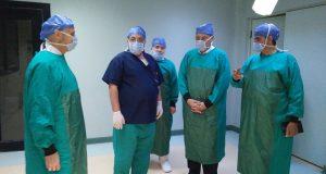 محافظ الشرقية يزور مستشفى ديرب نجم أثناء إجراء 13 عملية