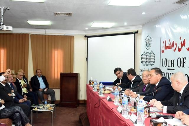 الشرقية يلتقي أعضاء جمعية مستثمري العاشر من رمضان2