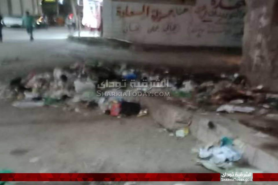 قمامة في محيط مجلس مدينة أبوحماد 3