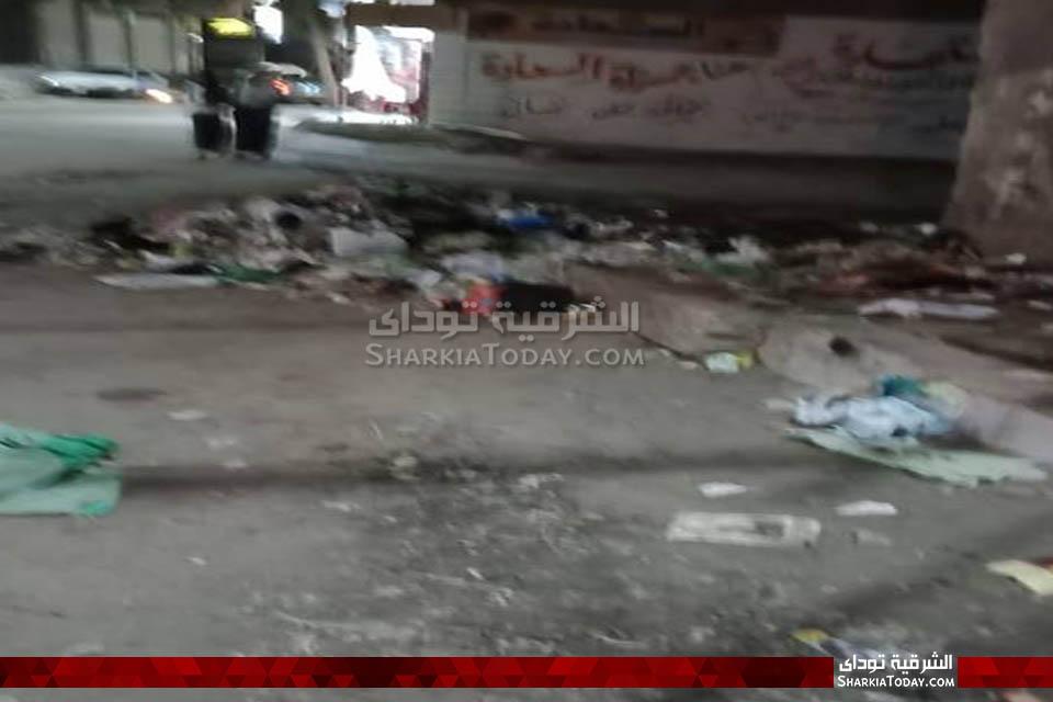 قمامة في محيط مجلس مدينة أبوحماد