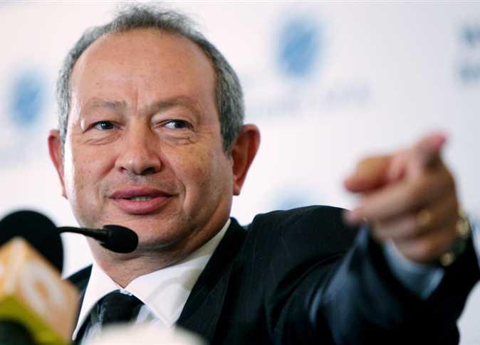 نجيب ساويرس يصف وزير الشباب والرياضة السابق