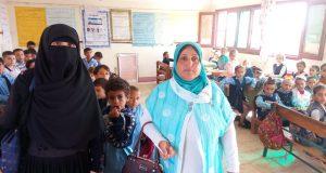 ندوات لتوعية الطلاب بالأمراض والوقاية منها بمدارس منشأة أبو عمر