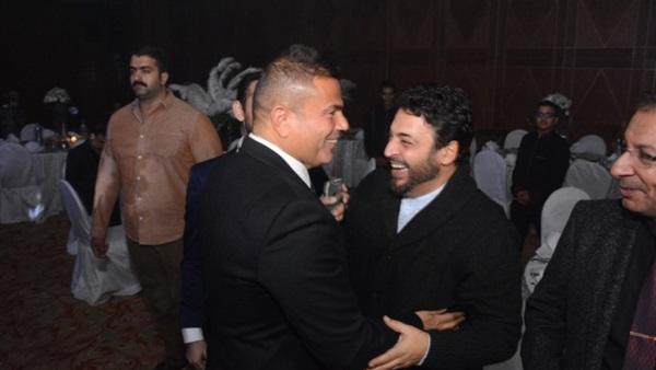 هدية حميد الشاعري لعمرو دياب في عيد ميلاده