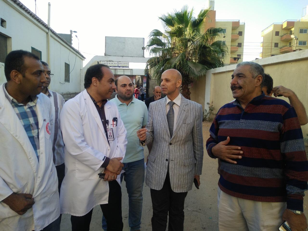 وكيل وزارة الصحة بالشرقية يتفقد منافذ تقديم الخدمة الصحية بههيا