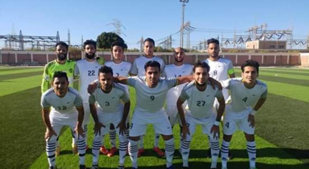 أبوحماد ينفرد بالمركز الثالث بعد الفوز على جنوب سيناء