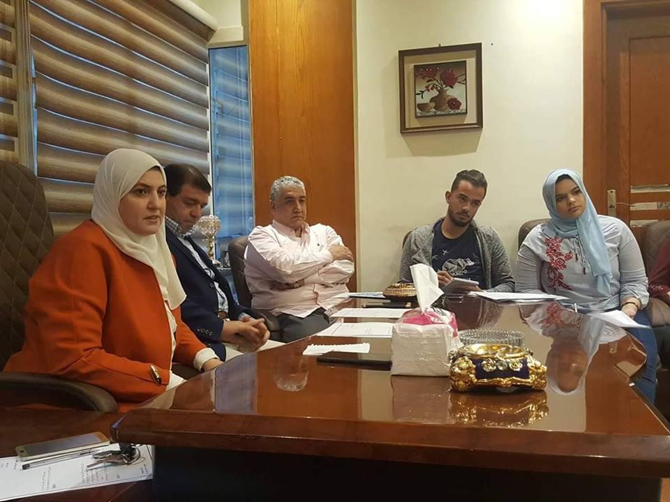 تثقيف مستقبل وطن بالشرقية تناقش طرح برامج تدريبة لشباب الحزب3