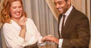 أول ظهور لهنا شيحة وأحمد فلوكس بعد زواجهما