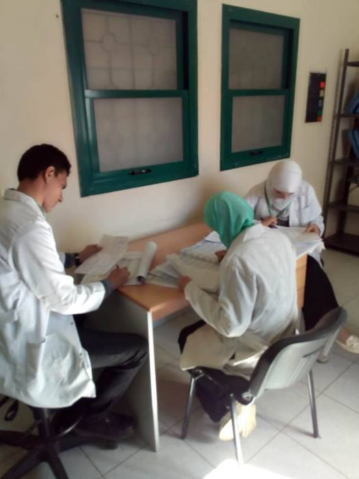 إجراء الكشف الطبي و تقديم العلاج بالمجان لـ ١٨٧١ مواطن بصان الحجر
