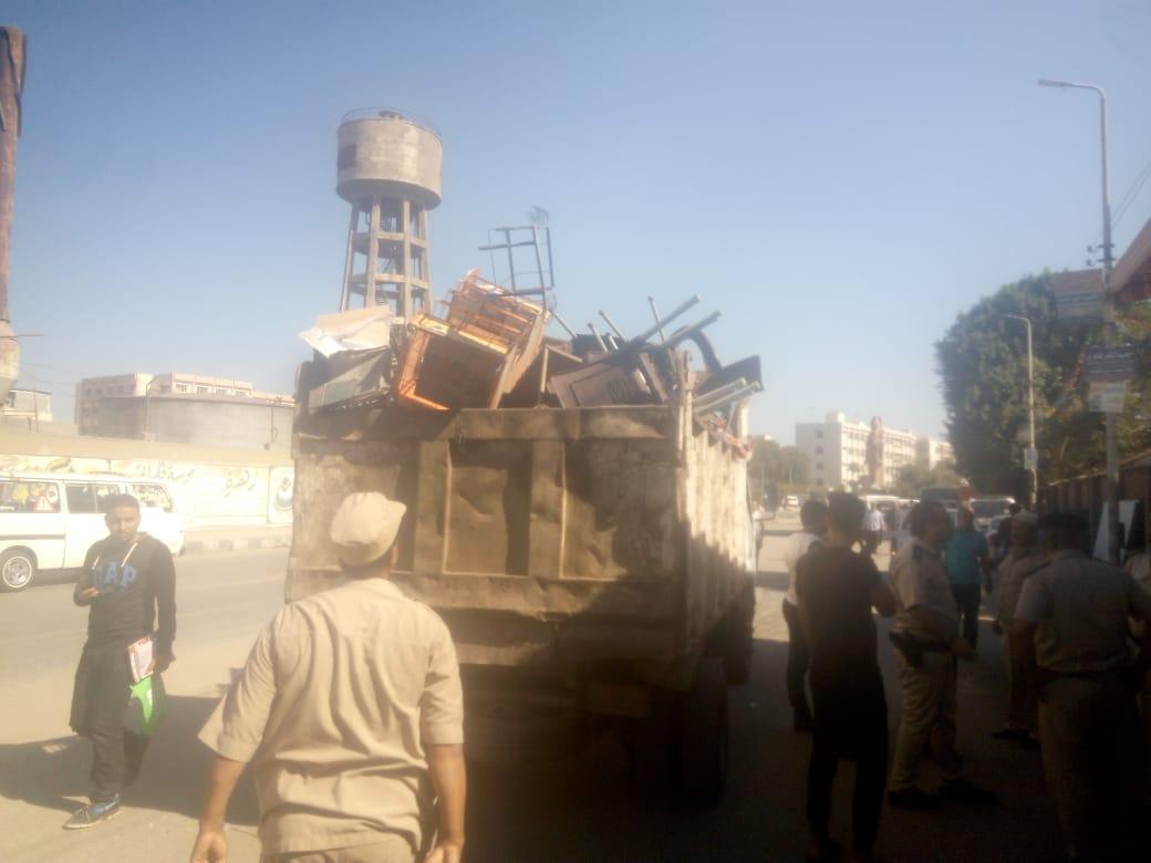 إزالة المخالفات بمدينة الزقازيق