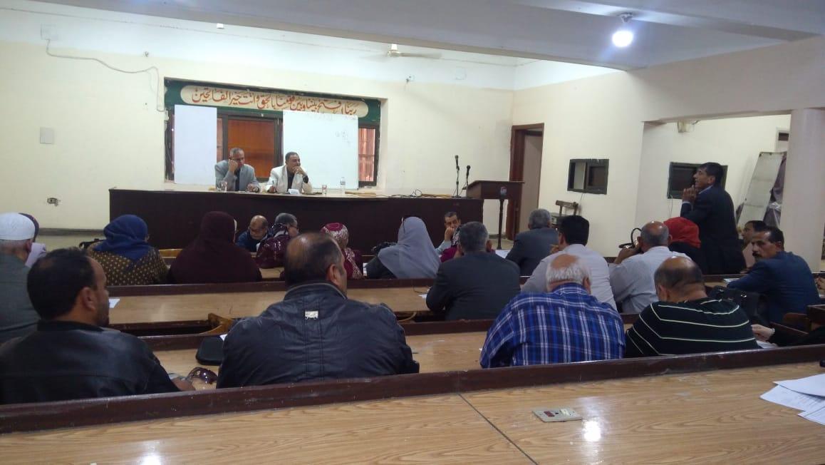 اجتماع رؤساء مجلس مدينة الزقازيق