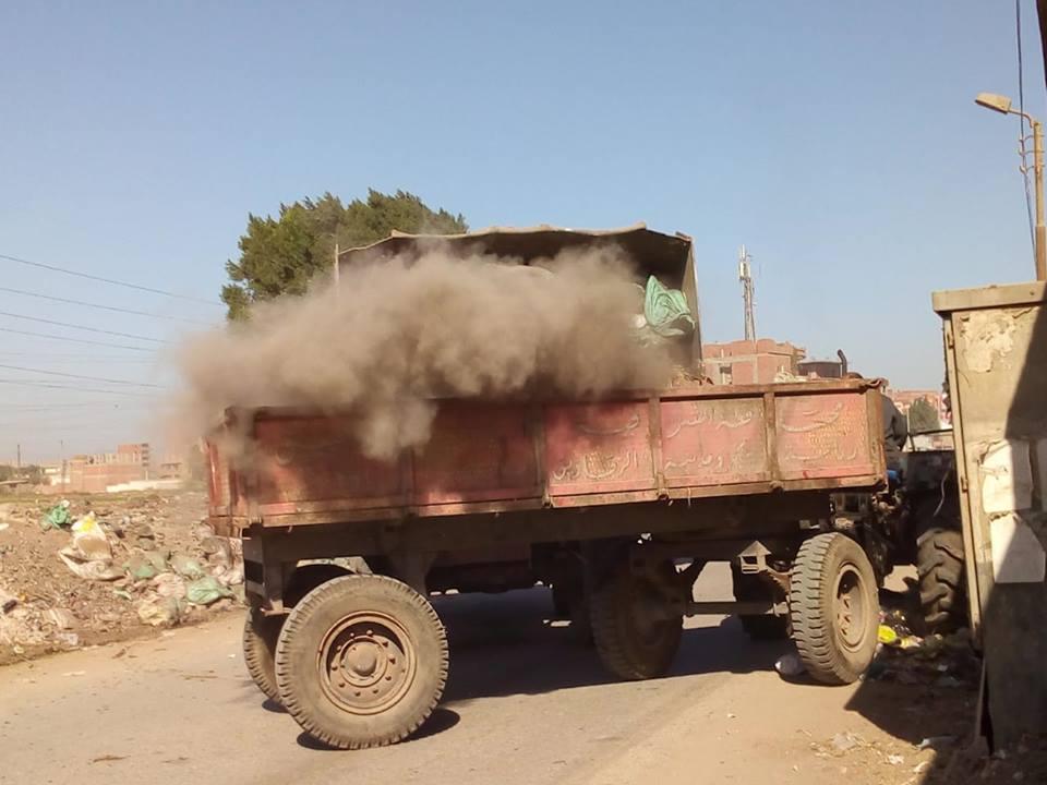 أعمال النظافة في شوارع الزقازيق4