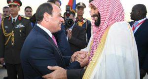 السيسي يستقبل الأمير محمد بن سلمان