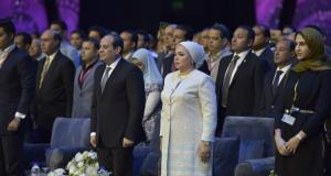 السيسي يطالب «منتدى شباب العالم» بالوقوف دقيقة حدادًا على شهداء المنيا