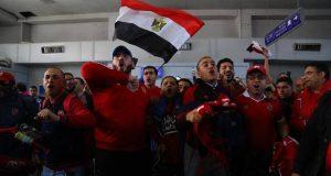 احتجاز جماهير الأهلي من قبل الأمن التونسي