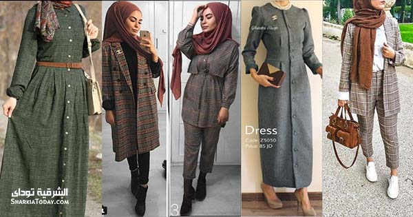 الكارهات موضة ملابس شتاء 2019