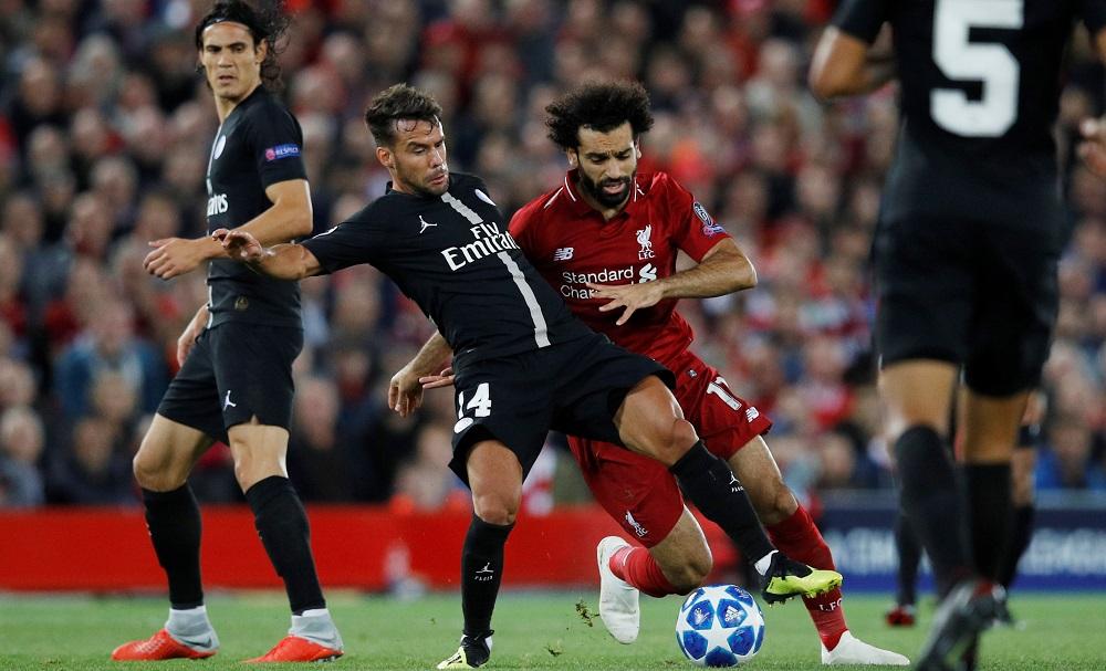 بث مباشر مباراة ليفربول وباريس سان جيرمان