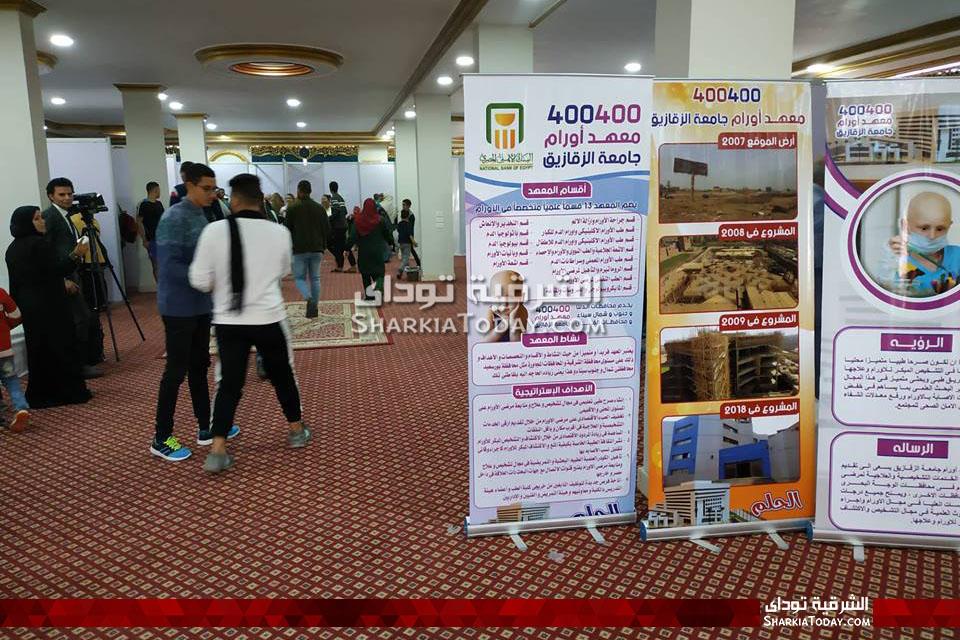 جامعة الزقازيق تنظم قافلة طبية متعددة التخصصات بالعاشر من رمضان