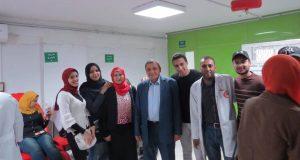 حزب مستقبل وطن بالشرقية تشارك افتتاح بنك الدم بههيا