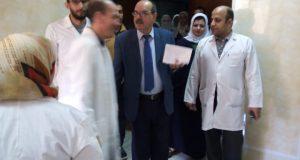 صحة الشرقية تتفقد مستشفى الحسينية وفاقوس