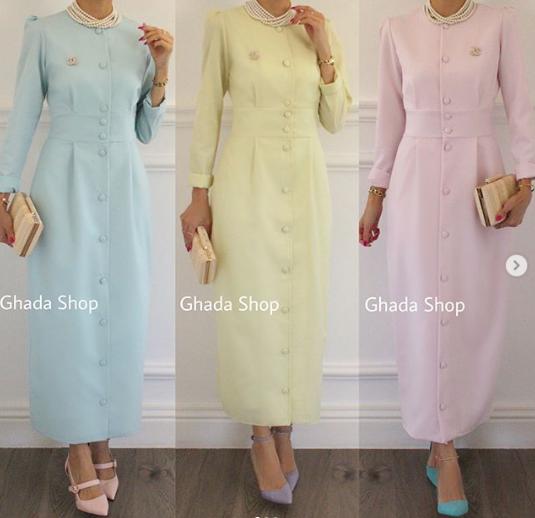 فستان بسيط موضة شتاء 2019