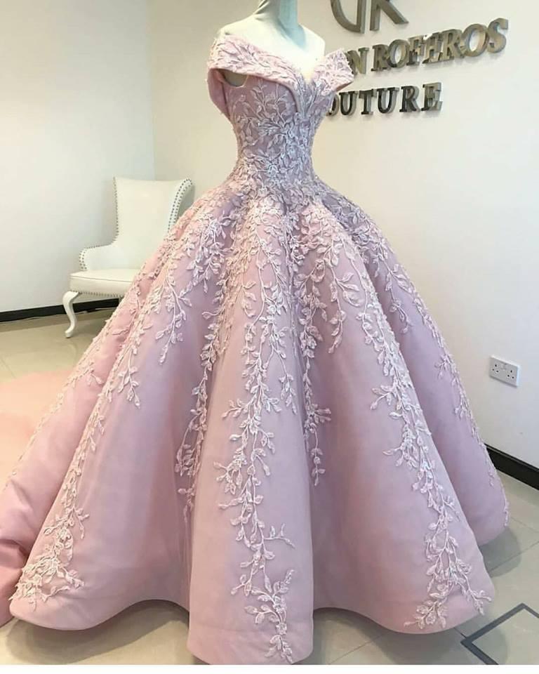 فستان خطوبة موضة شتاء 2019
