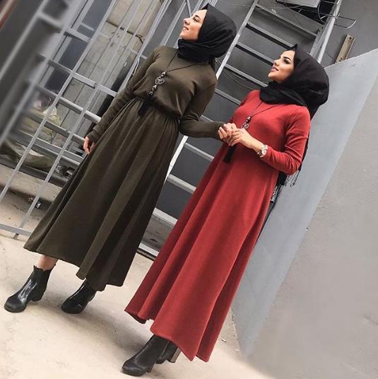 فستان كاجول موضة شتاء 2019