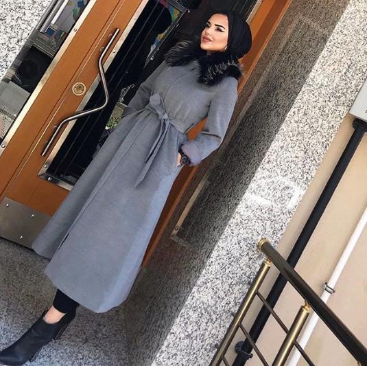 فستان كاجول موضة شتاء2019