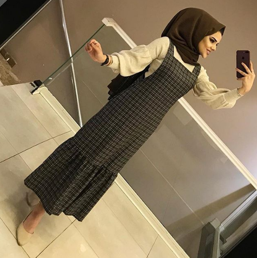 فستان محجبات شتاء 2019