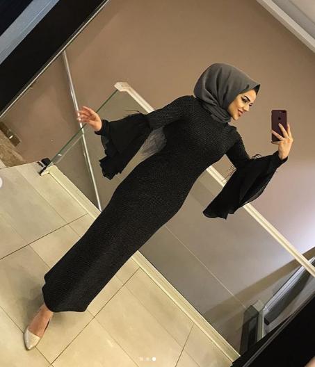 فستان موضة شتاء 2019