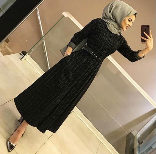 فستان موضة شتاء