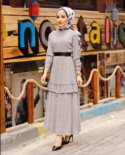 فستان موضة شتاء2019