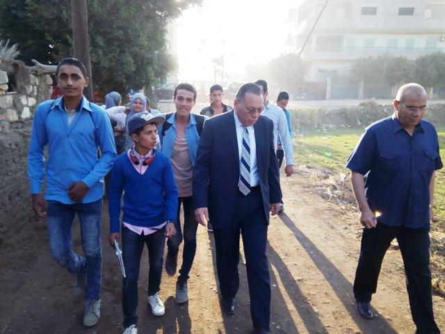 الشرقية يتابع الدراسة في مدرسة خزبك ومعهد زكريا الأنصاري بأبوحماد 2