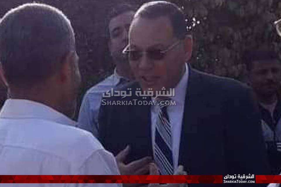 الشرقية يتفقد قرية الحلمية بأبوحماد