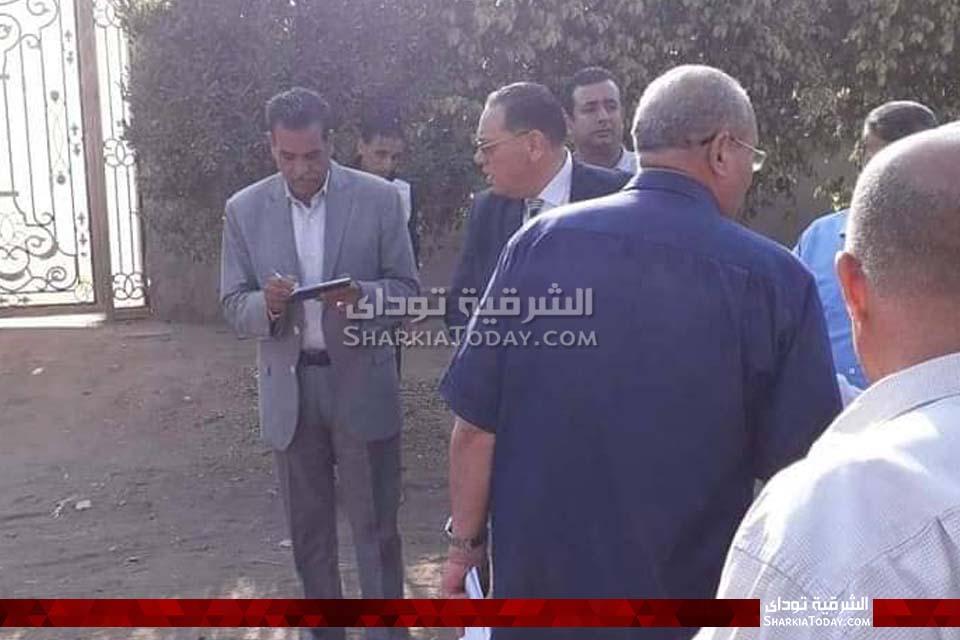 الشرقية يتفقد قرية الحلمية بأبوحماد 3