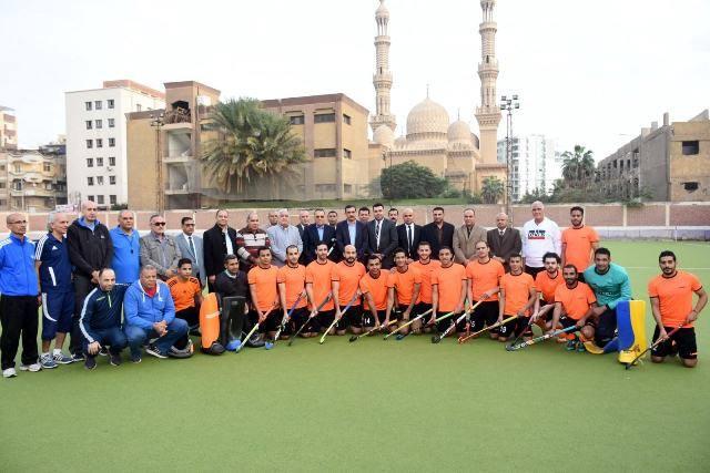 الشرقية يشهد تدريبات فريق الهوكي قبل سفرة للمشاركة في البطولة الأفريقية
