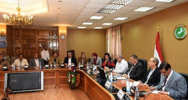 محافظ الشرقية يعلن تجميل وتطوير 4 أحياء بالزقازيق