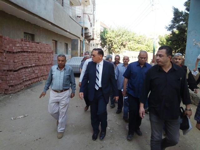 الشرقية يقرر تشكيل لجنة لفحص أعمال الوحدة المحلية بالشوبك9