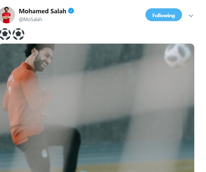 محمد صلاح يرد على منتقديه بصورة جديدة